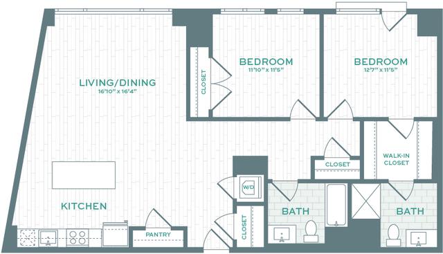 2 Bedrooms, North Allston Rental in Boston, MA for $4,804 - Photo 1