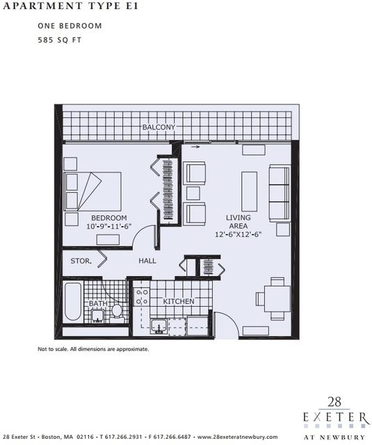 1 Bedroom, Back Bay East Rental in Boston, MA for $3,600 - Photo 1