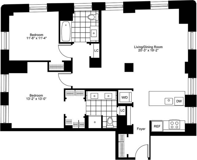 1 Bedroom, Bay Village Rental in Boston, MA for $5,410 - Photo 2