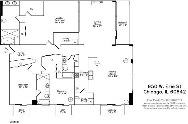 3 Bedrooms, River West Rental in Chicago, IL for $4,000 - Photo 2