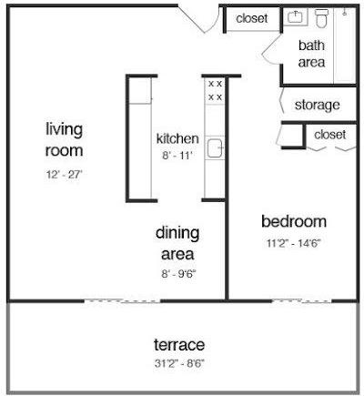 1 Bedroom, Chestnut Hill Rental in Philadelphia, PA for $1,151 - Photo 2