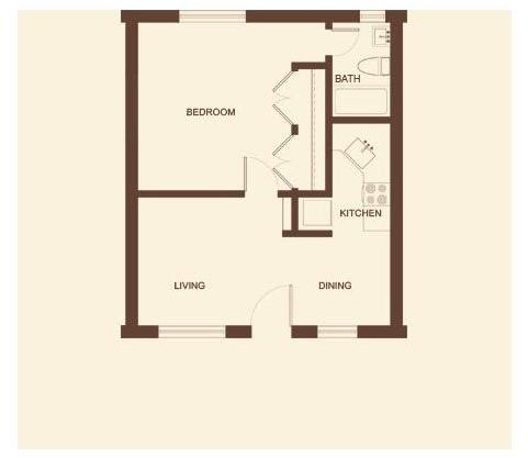 1 Bedroom, Arlington Rental in Dallas for $739 - Photo 1