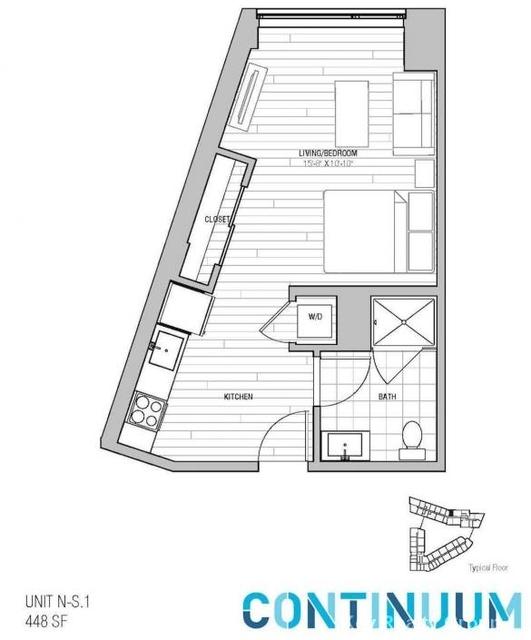 1 Bedroom, North Allston Rental in Boston, MA for $3,552 - Photo 2