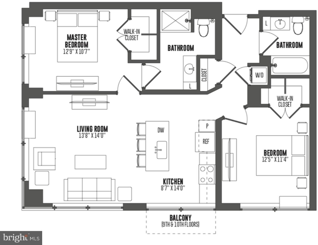 2 Bedrooms, Fairmount - Art Museum Rental in Philadelphia, PA for $3,164 - Photo 2