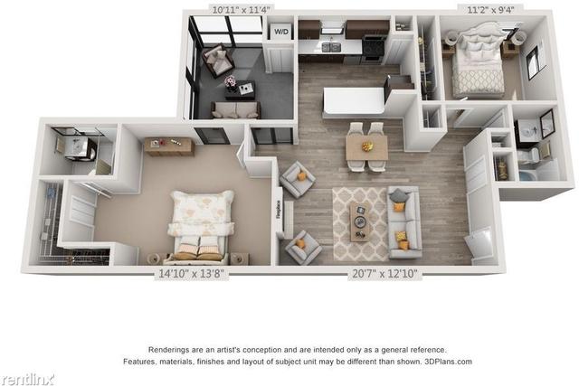 2 Bedrooms, Parc Village Condominiums Rental in Miami, FL for $1,622 - Photo 1