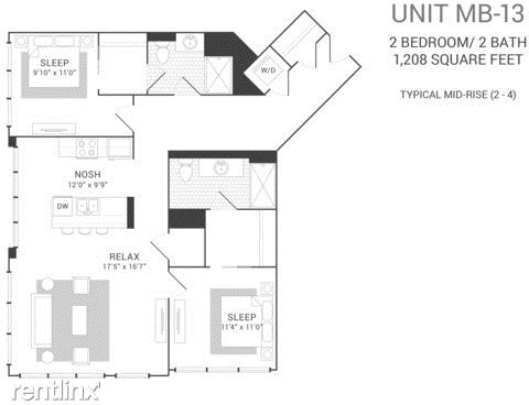 2 Bedrooms, Fulton River District Rental in Chicago, IL for $3,575 - Photo 1