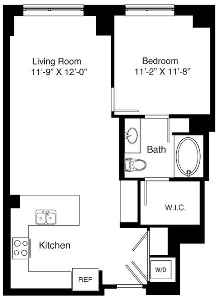 1 Bedroom, Seaport District Rental in Boston, MA for $4,175 - Photo 2