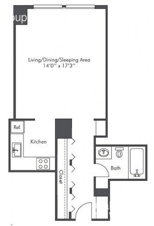 Studio, West Loop Rental in Chicago, IL for $1,390 - Photo 2