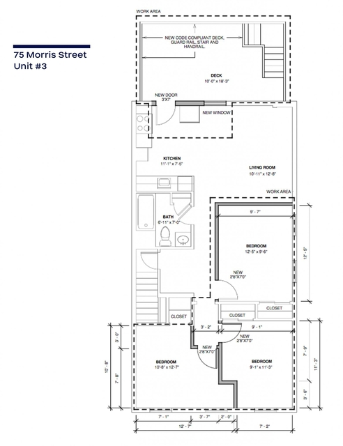 3 Bedrooms, Central Maverick Square - Paris Street Rental in Boston, MA for $2,700 - Photo 1