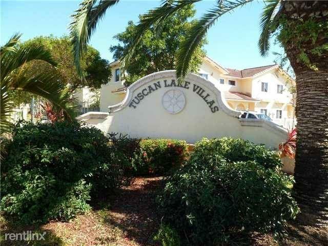 3 Bedrooms, Tuscan Lakes Villas Rental in Miami, FL for $2,100 - Photo 1