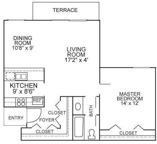 1 Bedroom, Plantation Rental in Miami, FL for $1,440 - Photo 2