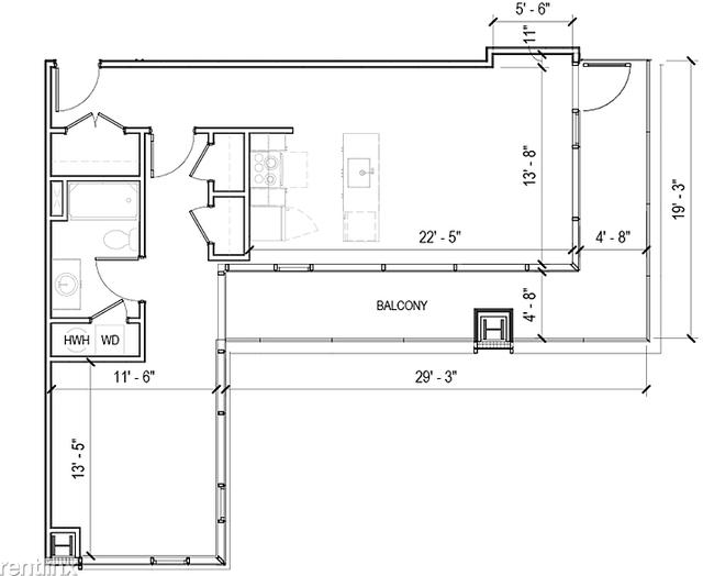 1 Bedroom, Logan Square Rental in Philadelphia, PA for $2,646 - Photo 2