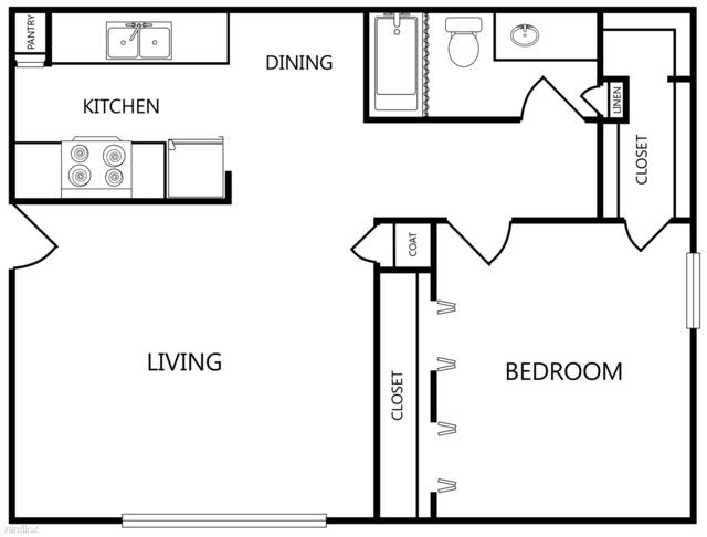 1 Bedroom, Cleburne Rental in Dallas for $817 - Photo 1