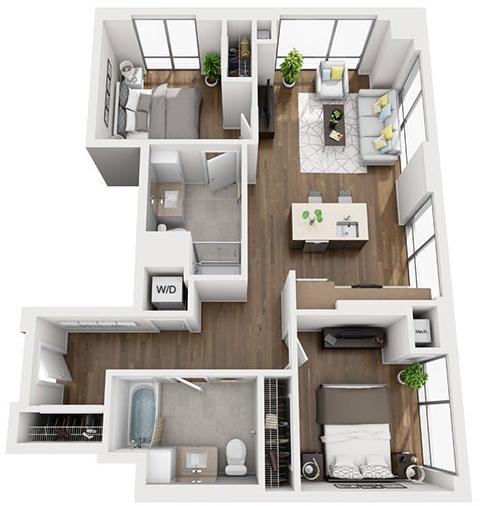 1 Bedroom, Shawmut Rental in Boston, MA for $3,545 - Photo 1