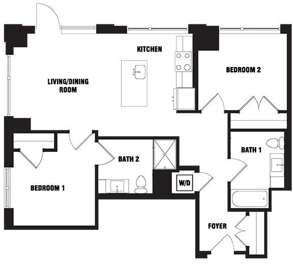 1 Bedroom, Shawmut Rental in Boston, MA for $3,545 - Photo 2