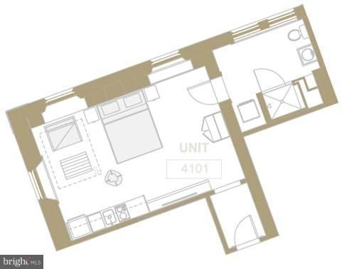 Studio, Dupont Circle Rental in Washington, DC for $4,500 - Photo 2