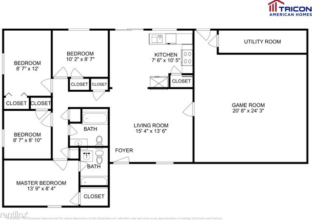 3 Bedrooms, Ridgemont Rental in Houston for $1,099 - Photo 1