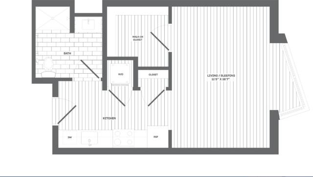 Studio, Medford Street - The Neck Rental in Boston, MA for $2,530 - Photo 1
