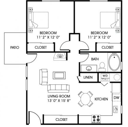 2 Bedrooms, Cottonwood Rental in Fort Collins, CO for $1,235 - Photo 1
