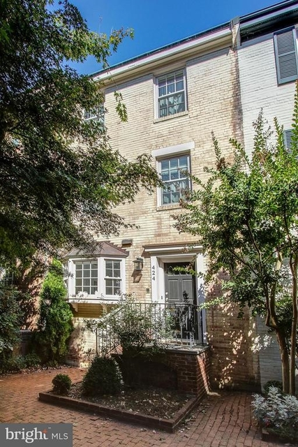 4 Bedrooms, Old Town Rental in Washington, DC for $5,500 - Photo 1