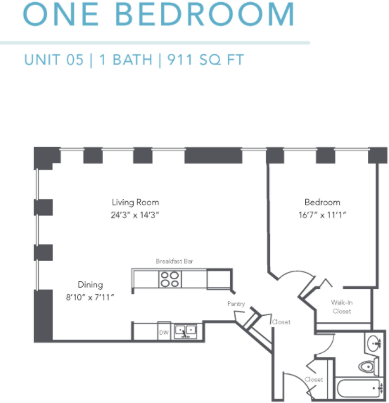 1 Bedroom, Gold Coast Rental in Chicago, IL for $2,185 - Photo 1