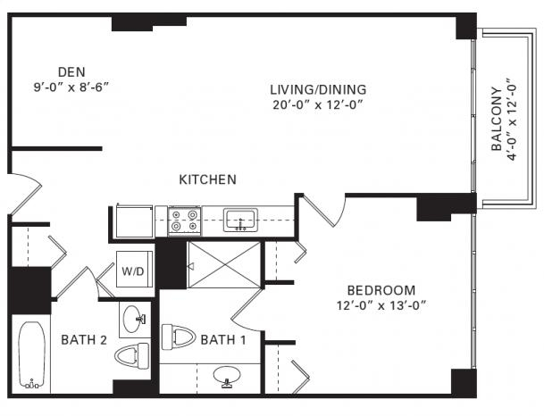 1 Bedroom, Fulton River District Rental in Chicago, IL for $2,135 - Photo 1