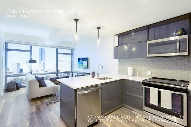 2 Bedrooms, Shawmut Rental in Boston, MA for $5,686 - Photo 2