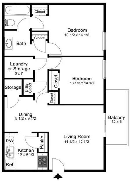2 Bedrooms, Cobb County Rental in Atlanta, GA for $937 - Photo 1