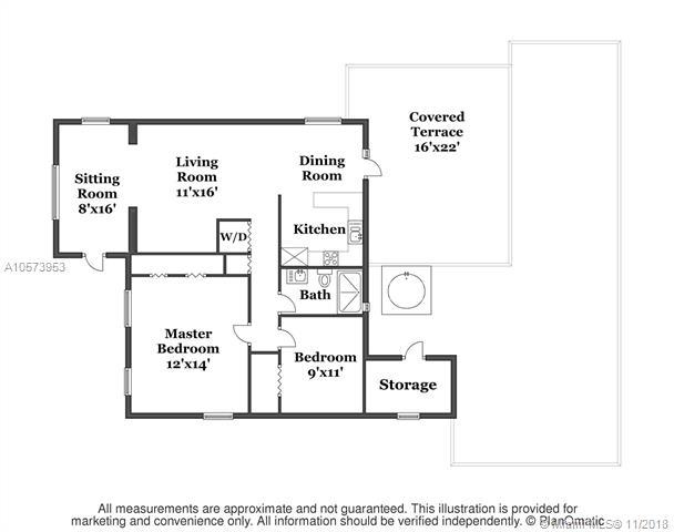 2 Bedrooms, Flagler Rental in Miami, FL for $2,450 - Photo 2