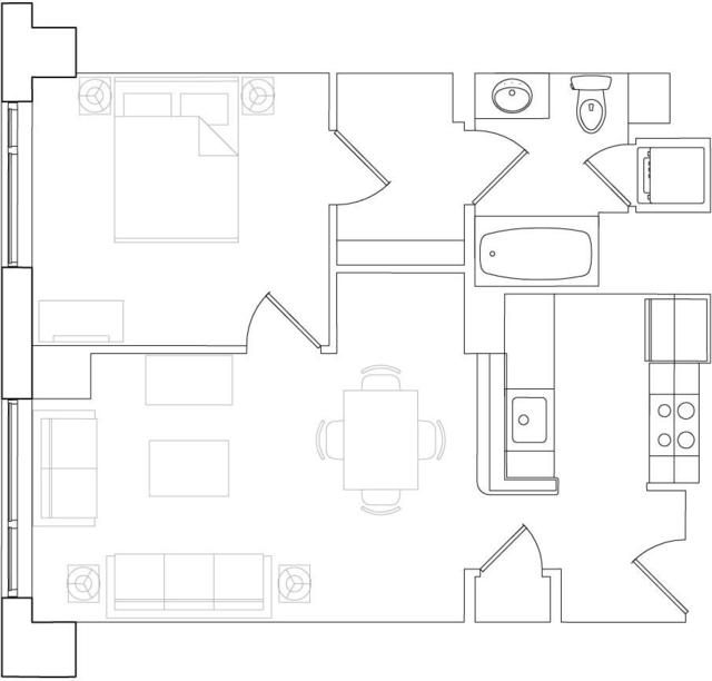 1 Bedroom, West Fens Rental in Boston, MA for $4,022 - Photo 1