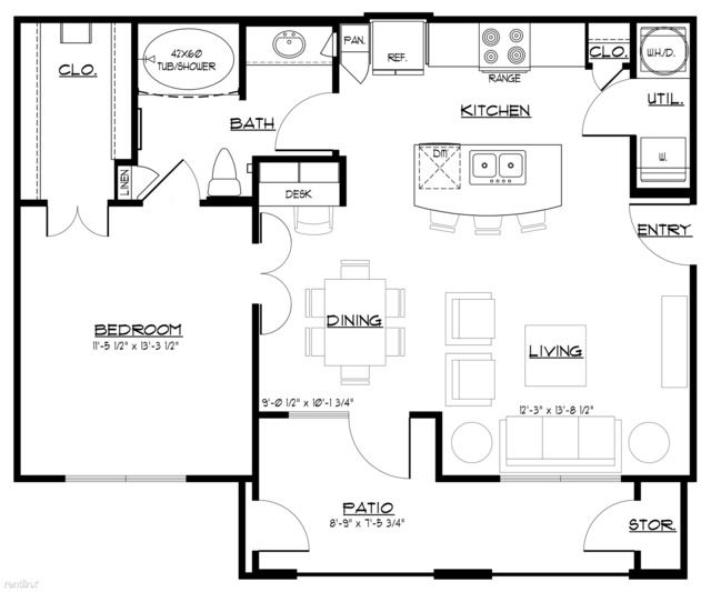 1 Bedroom, Sugar Land Rental in Houston for $1,070 - Photo 1