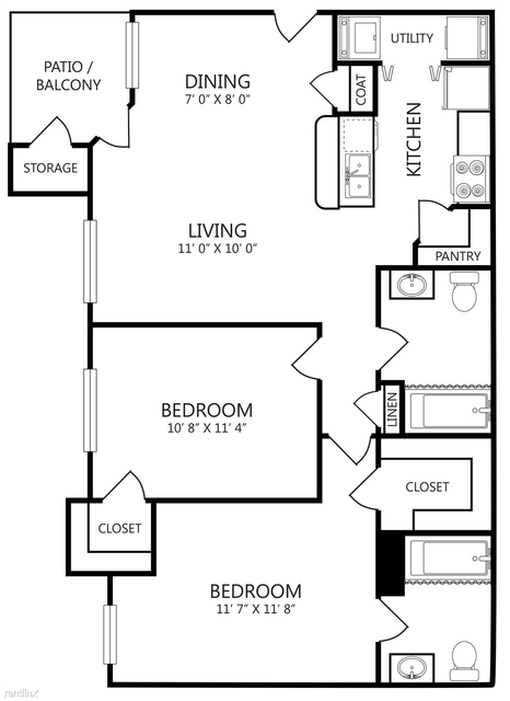 2 Bedrooms, Waxahachie Rental in Dallas for $1,319 - Photo 1