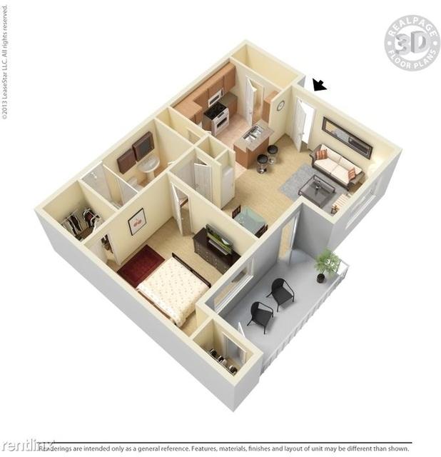 1 Bedroom, The Gardens Rental in Dallas for $1,184 - Photo 1