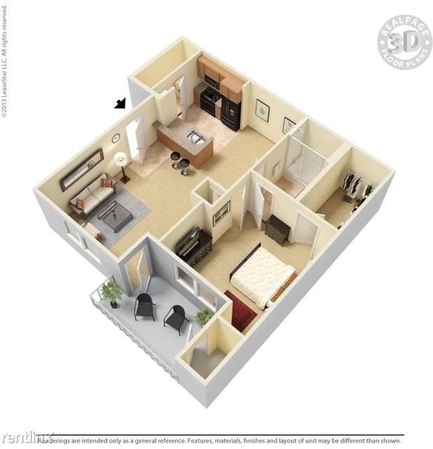 1 Bedroom, Range Drive Rental in Dallas for $1,025 - Photo 1