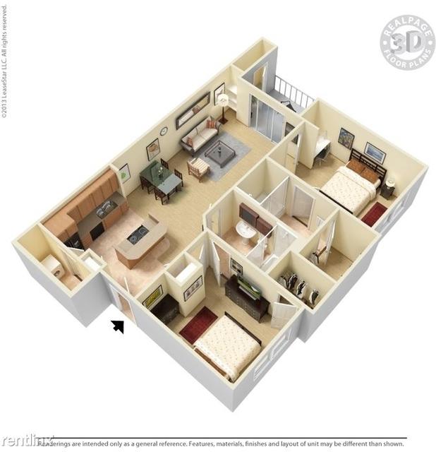 2 Bedrooms, Range Drive Rental in Dallas for $1,315 - Photo 1