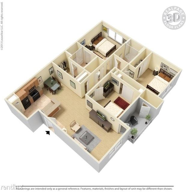 3 Bedrooms, Range Drive Rental in Dallas for $1,510 - Photo 1