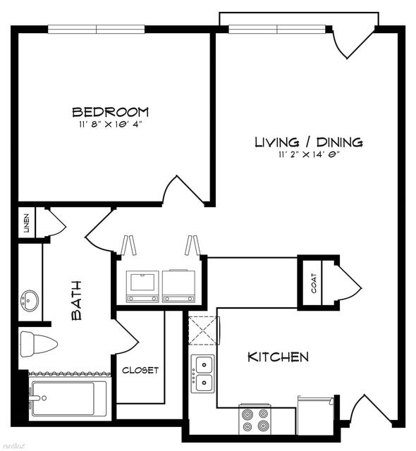 1 Bedroom, Northeast Dallas Rental in Dallas for $999 - Photo 1