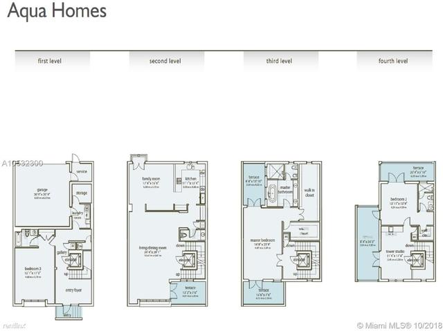 3 Bedrooms, Aqua at Allison Island Rental in Miami, FL for $7,700 - Photo 2