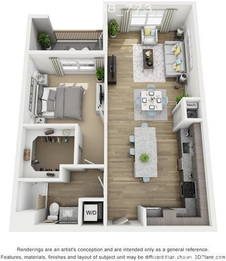 1 Bedroom, Austin Rental in Austin-Round Rock Metro Area, TX for $1,450 - Photo 2