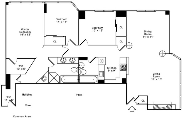 3 Bedrooms, Gold Coast Rental in Chicago, IL for $3,800 - Photo 2