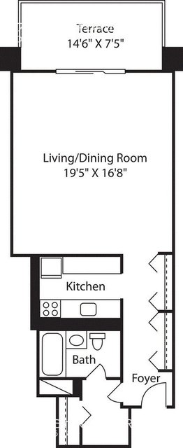 Studio, West End Rental in Boston, MA for $2,515 - Photo 1