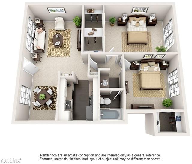 1 Bedroom, Barkley Square South Rental in Houston for $705 - Photo 2