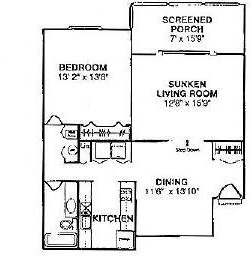 1 Bedroom, Dunwoody Rental in Atlanta, GA for $795 - Photo 1