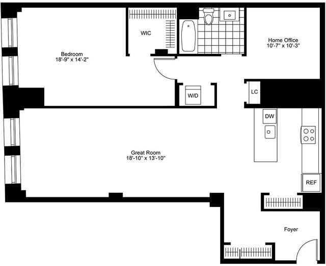 1 Bedroom, Bay Village Rental in Boston, MA for $5,185 - Photo 2
