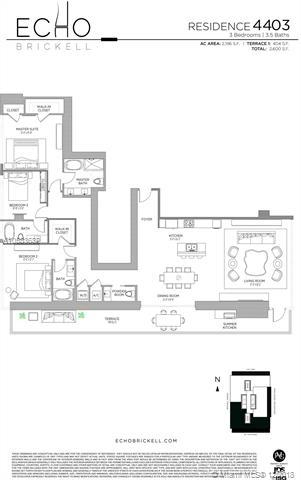 3 Bedrooms, Miami Financial District Rental in Miami, FL for $10,500 - Photo 2