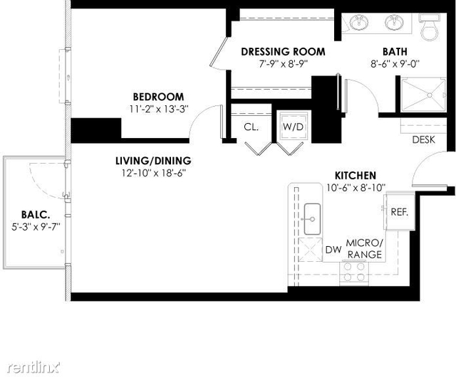 1 Bedroom, Goose Island Rental in Chicago, IL for $2,621 - Photo 1