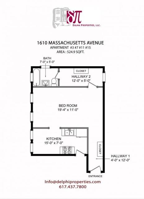 Studio, Neighborhood Nine Rental in Boston, MA for $1,850 - Photo 1