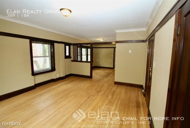 3 Bedrooms, North Center Rental in Chicago, IL for $1,825 - Photo 2