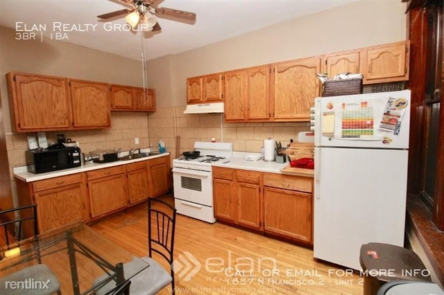 3 Bedrooms, Logan Square Rental in Chicago, IL for $1,800 - Photo 1