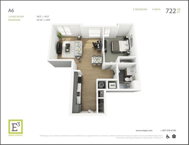 1 Bedroom, Coolidge Corner Rental in Boston, MA for $2,893 - Photo 1